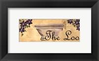 Framed Bath Series - The Loo
