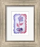 Framed Evelyn - Denim Floral III
