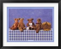 Framed Teddy Bears #2