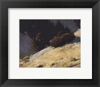 Framed Utah Hills