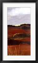 West Range Framed Print