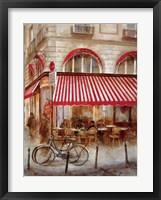 Framed Cafe De Paris II