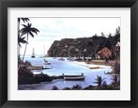 Framed Island Paradise