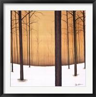 Framed Golden Twilight