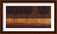 Framed Autumn Silhouettes I