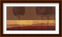 Framed Autumn Silhouettes II