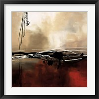 Symphony in Red and Khaki I Framed Print