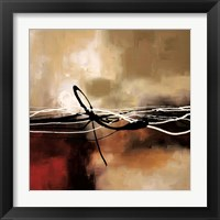 Framed Symphony in Red and Khaki II