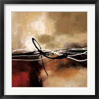 Symphony in Red and Khaki II Framed Print