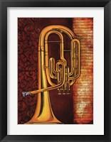 Tenor Horn Framed Print