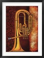 Framed Tenor Horn