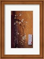 Framed Oriental Blossoms III