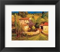 Framed La Femme en Provence