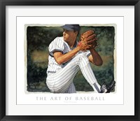 Framed Art of Baseball - The Pitcher