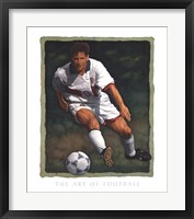 Framed Art of Football - The Shot