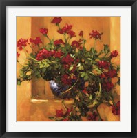 Framed Ivy Geraniums