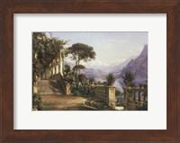 Framed Lodge on Lake Como