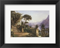 Framed Lodge on Lake Como