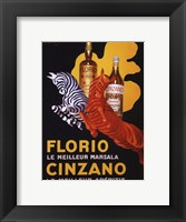 Florio e Cinzano, 1930 Framed Print