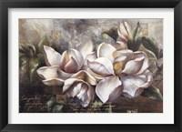 Framed Dawning Magnolias