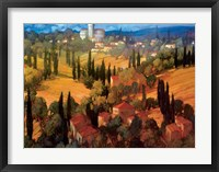 Framed Tuscan Castle