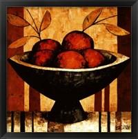 Crimson Harvest Framed Print