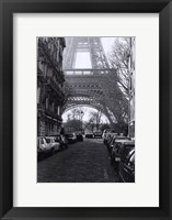 "Framed Street View of ""La Tour Eiffel"""
