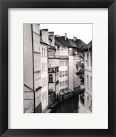 Little Canal, Prague, Czech Republic Framed Print