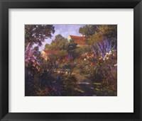 Framed Annapolis Garden