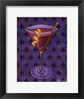 Framed Martini Royale - Spades