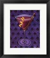 Martini Royale - Spades Framed Print