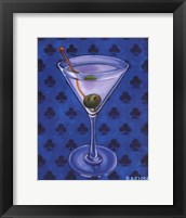 Framed Martini Royale - Clubs