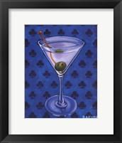 Framed Martini Royale - Clubs