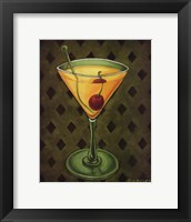 Framed Martini Royale - Diamonds