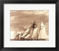 Framed Maiden Voyage II