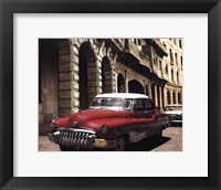 Framed Cuban Cars I
