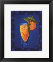 Framed Tropical Cocktail III
