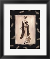 tapp - Haute Afternoon Framed Print