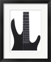 Framed Electric Bass
