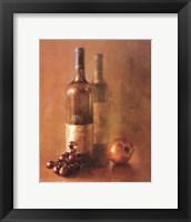 Framed Sunset Wine I