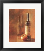 Framed Sunset Wine II