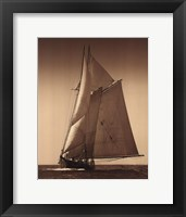 Framed Under Sail I