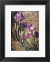 Framed Iris Romance
