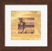 Framed Island Memories I