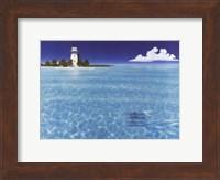 Framed Boca Chita Lighthouse