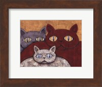 Framed Sun Cats