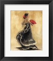 Framed Flamenco Dancer II