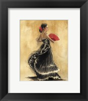 Framed Flamenco Dancer II