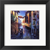 Framed Daybreak in Venice