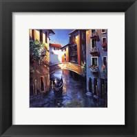 Framed Daybreak in Venice